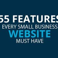 55 Features for a Successful Small Business Website [Infographic]