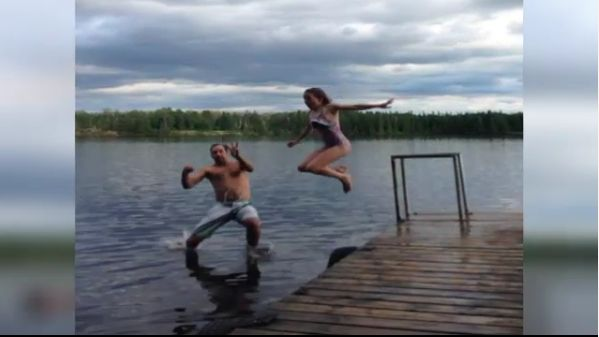 While the majority of Canada 150 celebrations have come and gone, a father-daughter duo in Manitoba just recently completed 150 jumps in the water in 150 days.