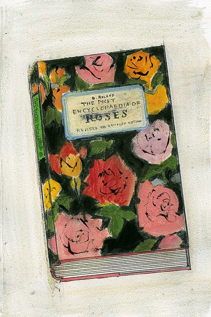 ENCYCLOPEDIA OF ROSES by yuki kitazumi 北住ユキ, via Flickr
