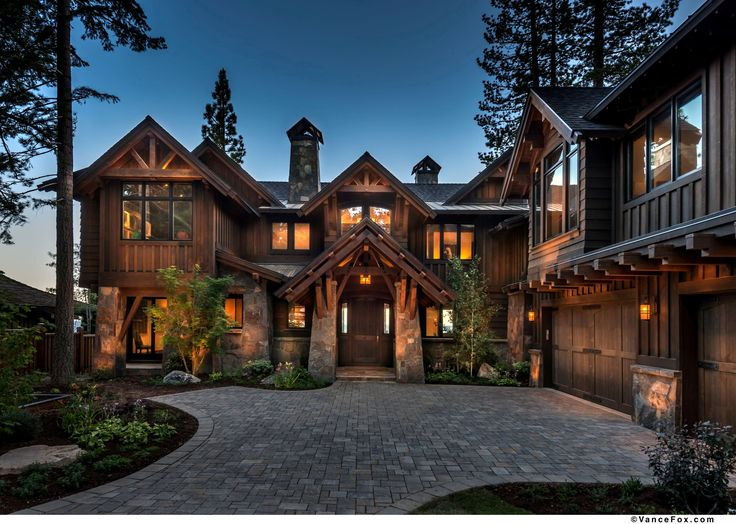 North shore lake tahoe custom home built by nsm for North shore home builders