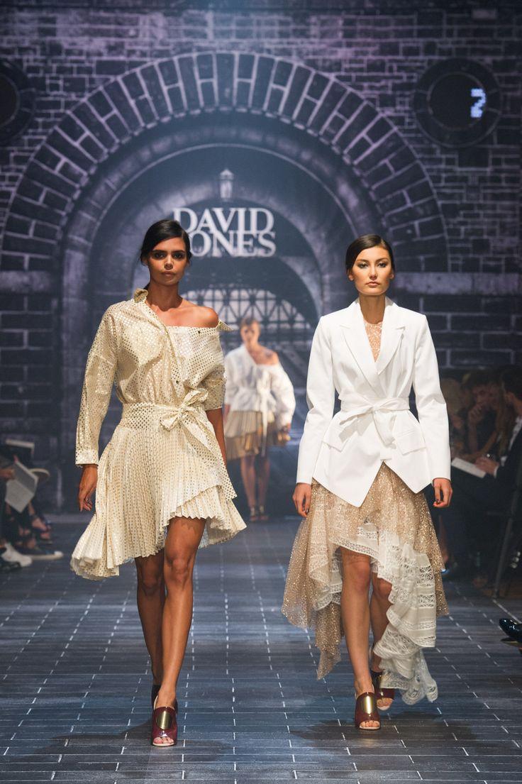 #davidjones #autumn #winter #runway #fashion #zimmermann