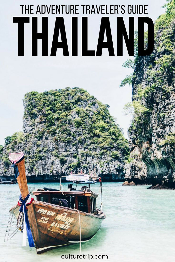 An Adventurous Traveler's Guide To Thailand by the Culture Trip