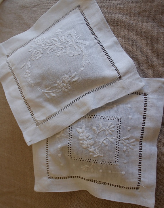 I have a couple of these pretty lavender sachets amongst my clothing in my bedroom