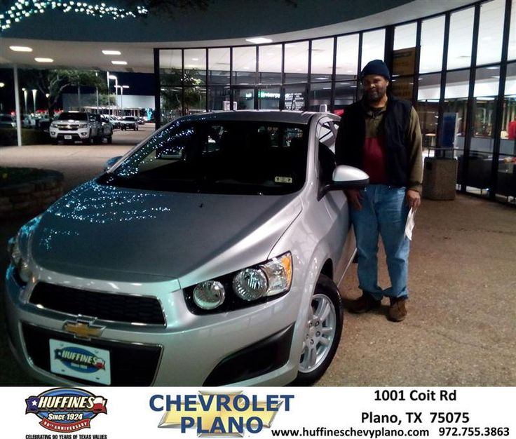 Congratulations to Delbert Stanley on your #Chevrolet #Sonic purchase from Ritchie Ballinger at Huffines Chevrolet Plano! #NewCar