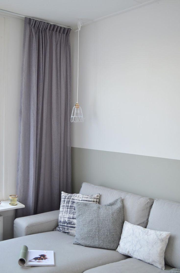 17 beste idee n over verftechnieken muur op pinterest faux het schilderen van muren toscane for Gang grijs en wit