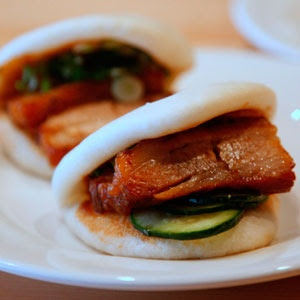 Momofuku buns from Momofuku Noodle Bar #NYC #Restaurant