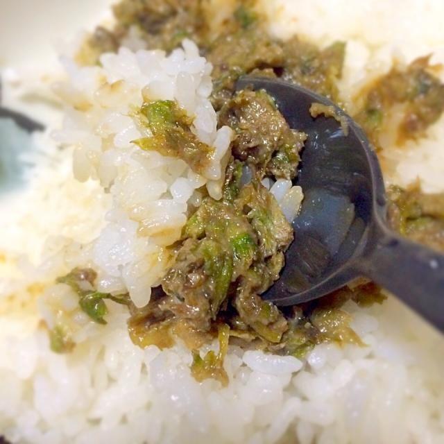 おやつ - 8件のもぐもぐ - ふきのとう味噌ご飯 by geko