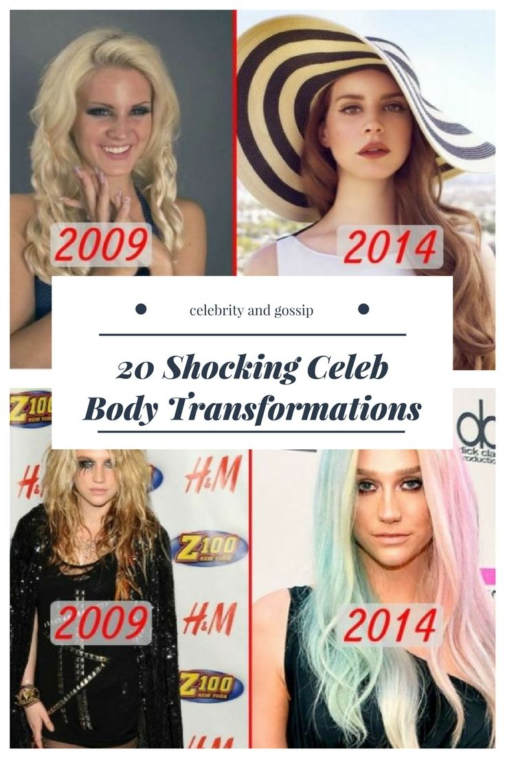19 Shocking Celebrity Weight Transformations | Celebrity News