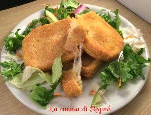 #Mozzarella in carrozza al forno# La cucina di Reginé