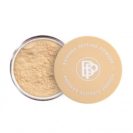 Banana Setting Powder' this stuff is the bomb for redness