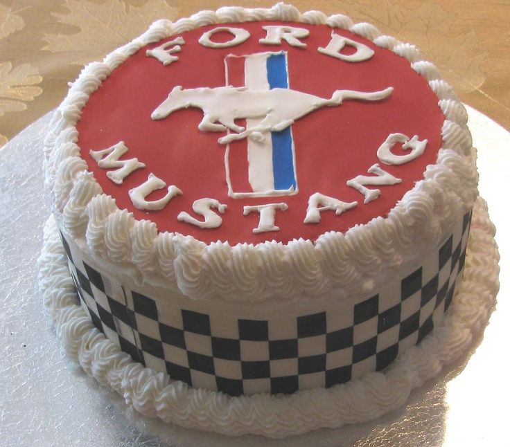 17 Best Ideas About Mustang Cake On Pinterest