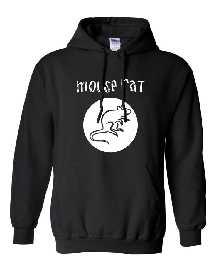 Mouse Rat band Hoodie - Black and White - Parks & Rec - Unisex by TeesInk on Etsy https://www.etsy.com/listing/214935176/mouse-rat-band-hoodie-black-and-white