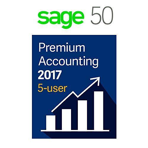 Sage Software Sage 50 Premium Accounting 2017 5-User