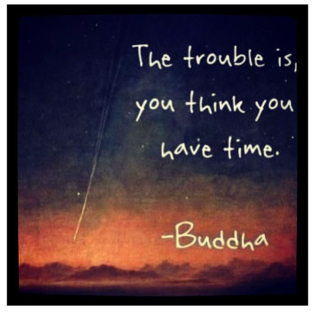 Time: Buddha Quotes, Remember This, Time Quotes, Make Time, So True, Buddhaquotes, Carpe Diem, Wise Words, Ticking Tock
