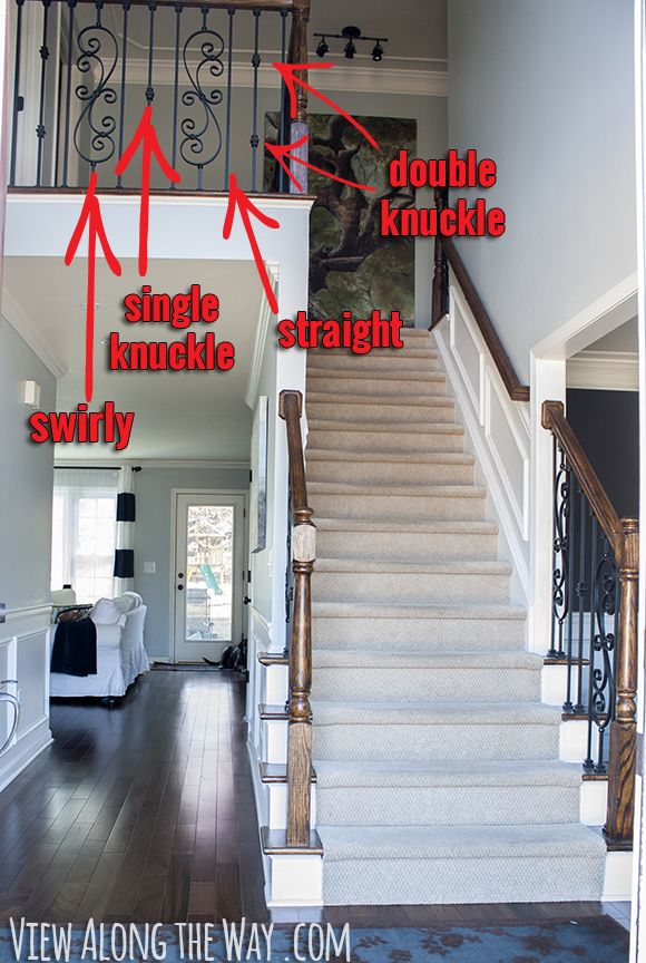 How To Install Iron Balusters   * View Along The Way *. Wood Stair RailingsWood  ...