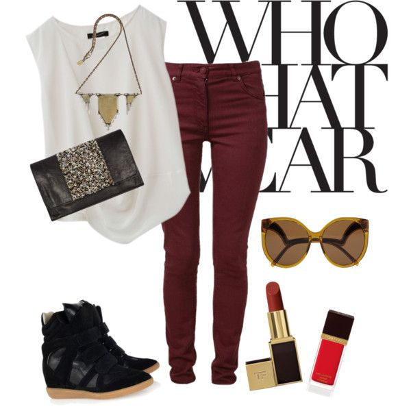"""""""Rocking the sporty chic style @Isabel Strasser Marant"""" by kerenb on Polyvore"""