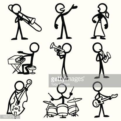 stick figure playing drums - Google pretraživanje