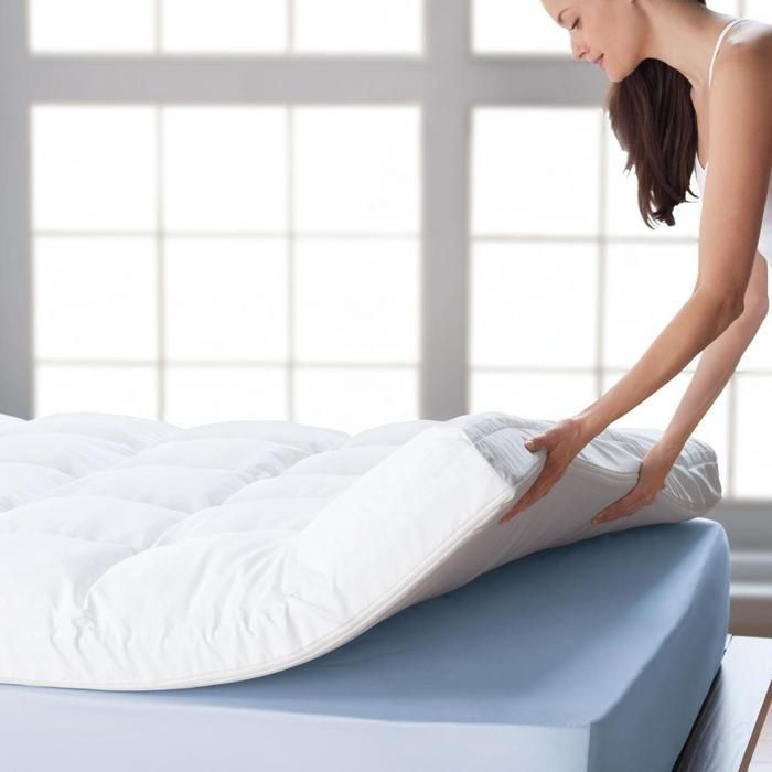BioSense™ Memory Foam Mattress Topper  see @Brookstone   #whitesale