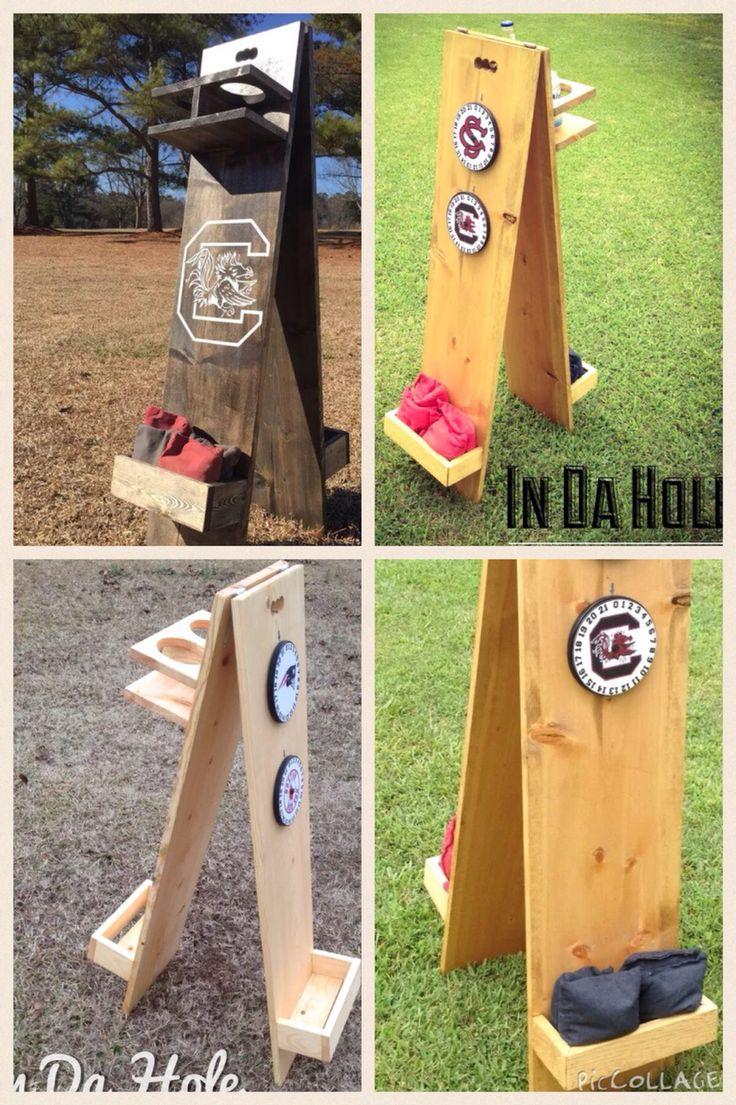 Horseshoe Pit Scoreboard Plans - Cornhole horseshoe score caddy