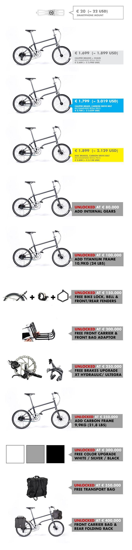 Самый легкий и компактный складной электрический велосипед в мире! С электровелосипедом, который изменит способ, которым вы едете.