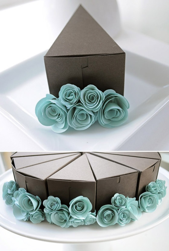 PAPER CAKE makes for a less-broke bride