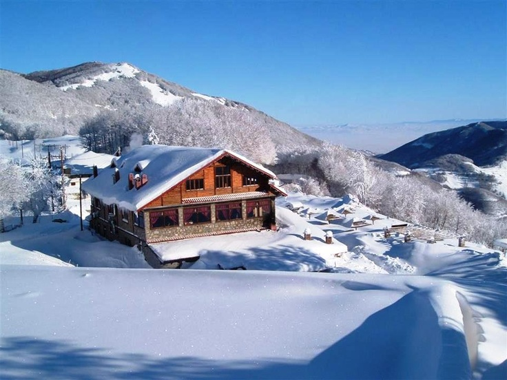 Ski resort at Pylio - Volos