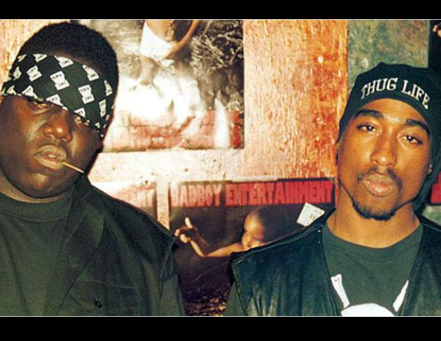 Tupac Dead Body | Tupac and the Notorious B.I.G. together as friends.