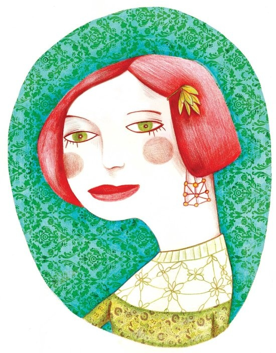 Esther - Olivia Paroldi Illustration  http://lolive.ultra-book.com/book