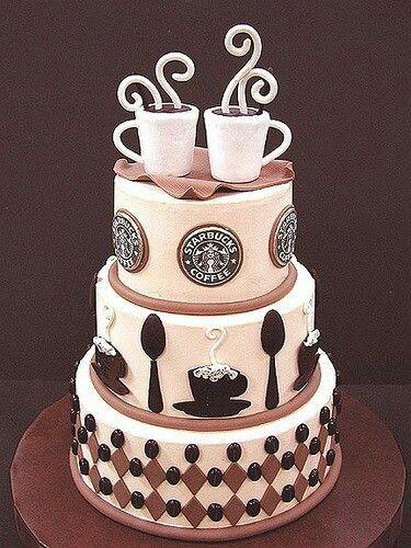 Starbucks kake