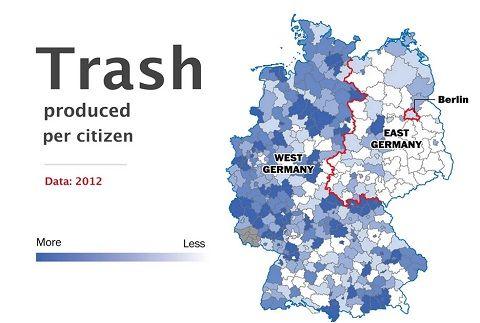 Salaires, chômage, démographie... 24 ans après la réunification de l'Allemagne, les régions de l'ex-RDA semblent encore très défavorisées par...