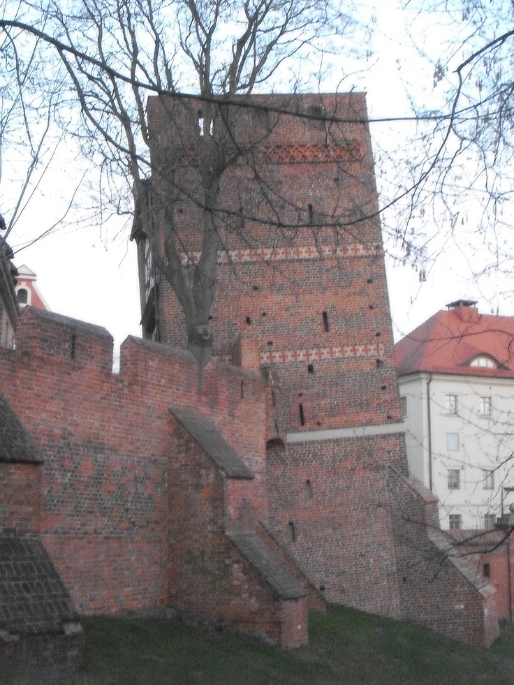 The Leaning Tower in Toruń.
