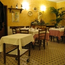 "Trattoria ""ai Due Platani"", Parma, Italy"