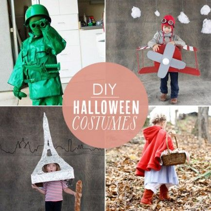 10 amazing DIY Halloween costumes you can make.  These are fun.  I especially like the cloud costume.