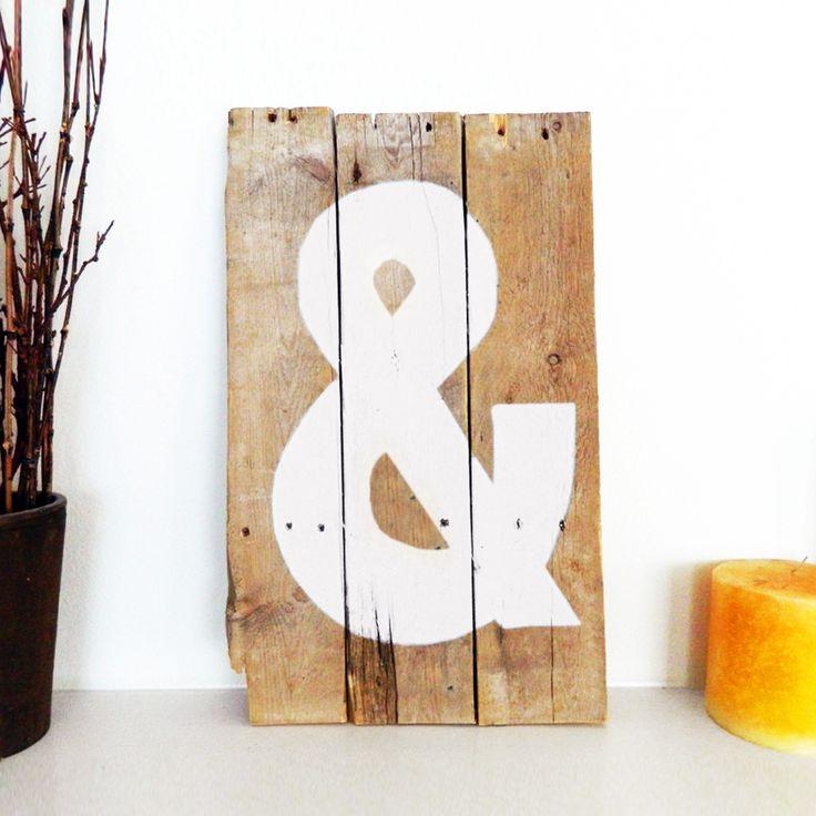 Lettre à peindre - une alternative aux lettres métal  #DIY