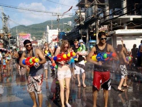 Songkran Thailand
