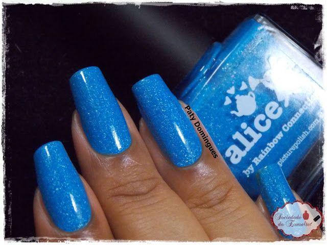 Alice - Picture Polish     #esmaltadasdapatydomingues  #picturepolish
