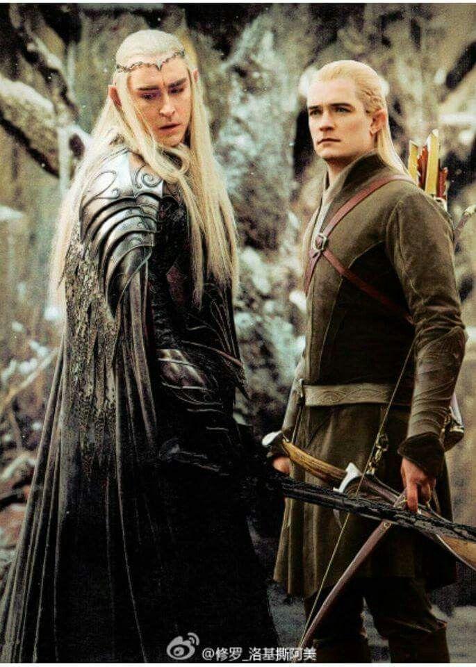Thranduil, King of Mirkwood and Legolas, (my favourite!!!) Prince of Mirkwood!!!!!!!!!!!!!!!!!!!