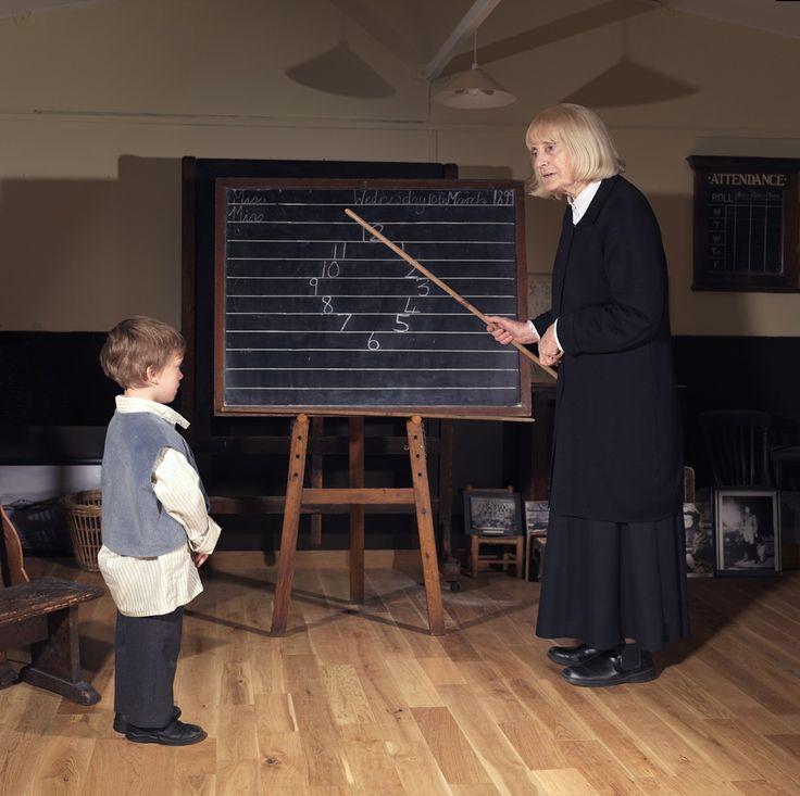 Early Play, Teacher, The Victorian Schoolroom, Edinburgh, 2010