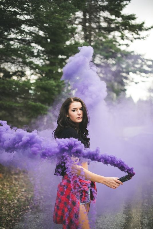 Repte 6: Fotos amb bomba de fum