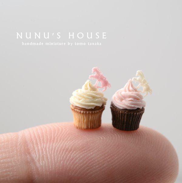 nunu's house miniature cupcakes