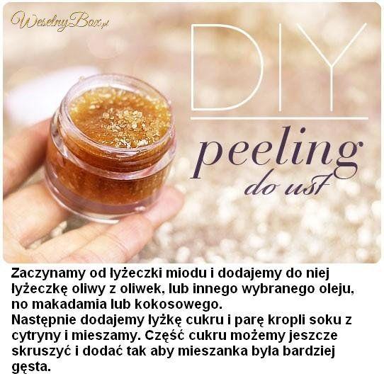 Naturalny peeling do ust!