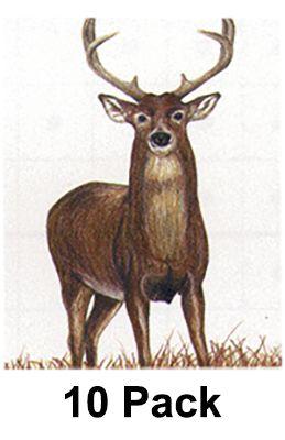 """MAPLE LEAF PRESS INC NFAA Deer Target 28""""""""x40"""""""" ( Group 2), 10P"""