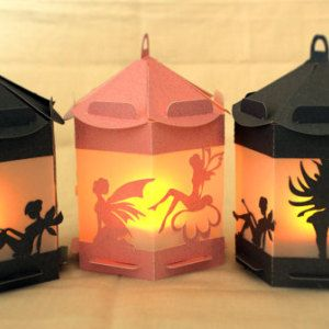 3D SVG Fairy Lantern svg  digital files