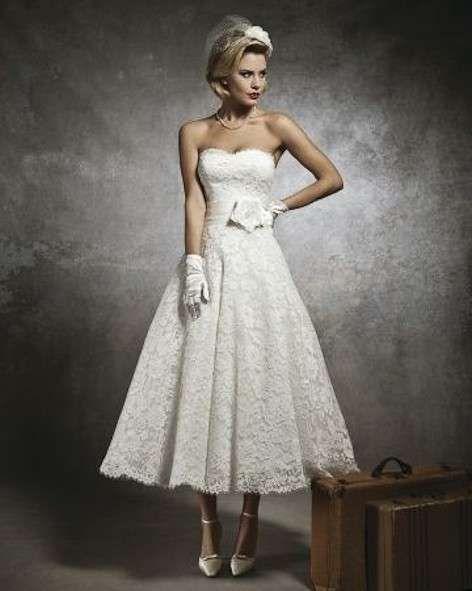 Abiti da sposa anni '50 - Modello vintage da sposa