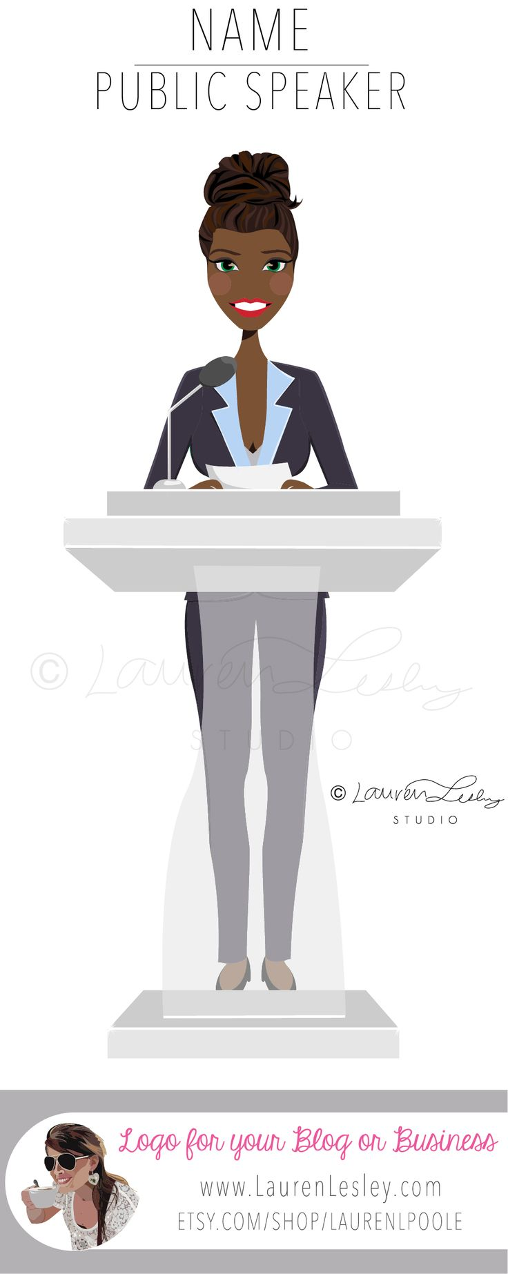 Public Speaking | Public Speaking Tips | Public Speaking Anxiety | Public Speaking Teaching | Public Speaking Motivation | Public Speaking Graphic | Public Speaking Design | Public Speaker Logo | Female Leader | Woman Leader | Politician Outfit | Politician Fashion | Women Politician | African American Politician | African American Woman | Politician Graphic | African American Drawing Design