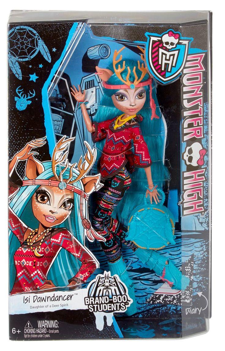 Monster High Brand-Boo Students Kjersti Isi Dawndancer: Mattel: Amazon.com.mx: Juegos y juguetes