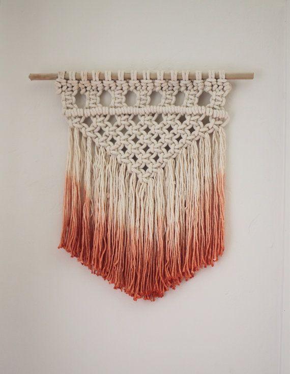 how to make macrame rugs