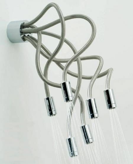 Octopus shower head. Not sure if I'd actually want it, but it's cool!