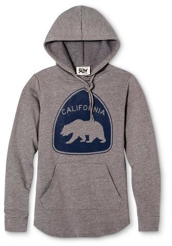 San Francisco Local Pride by Todd Snyder Women's California Bear Hoodie - Heather Gray