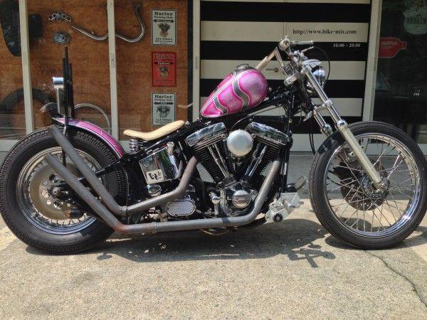 ϟ Hell Kustom ϟ: Harley Davidson By Mix Hard Works Shop